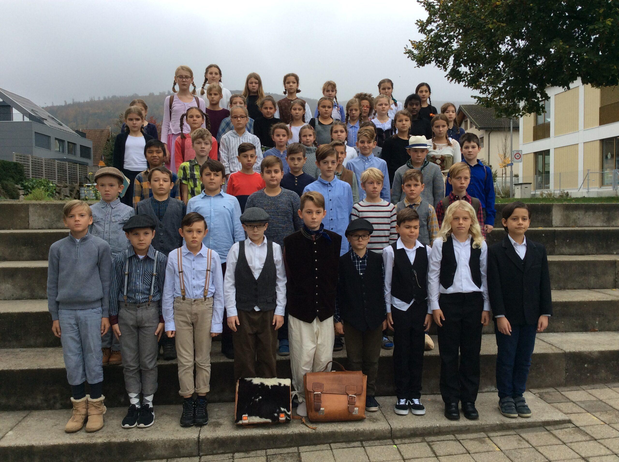 Schule früher - ein Morgen 4a, 4b, 4c_1